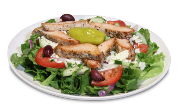 Greek Chicken Salad at Gyropolis